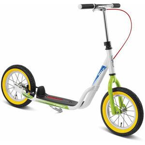 Puky R 07 L Luftbereifter Roller Kinder weiß/kiwi weiß/kiwi