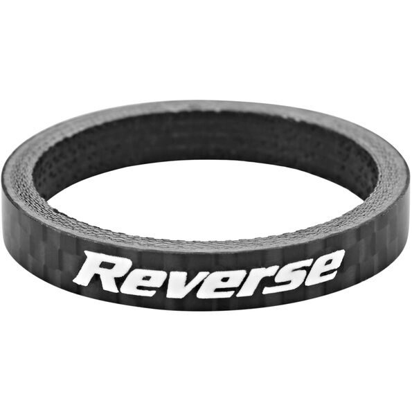 """Reverse Spacer 5mm Carbon 1 1/8"""" schwarz"""