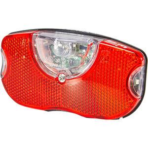 Busch + Müller Selectra Plus Dynamo Rücklicht LED rot-schwarz rot-schwarz
