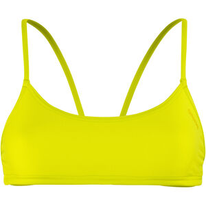 arena Play Bandeau Top Women soft green-yellow star