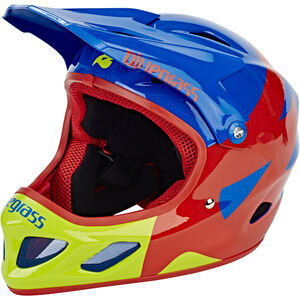 bluegrass Explicit Fullface Helm blue/red/green