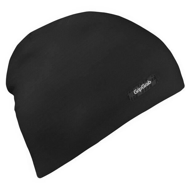 GripGrab Merino Polyfaser Lightweight Beanie black