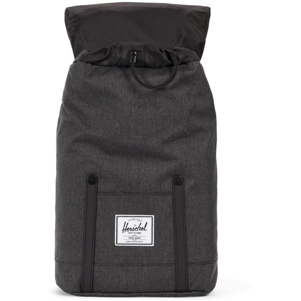 Herschel Retreat Backpack 19,5l black crosshatch/black
