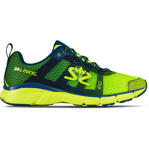Salming enRoute 2 Shoes Herren safety yellow/poseidon blue safety yellow/poseidon blue