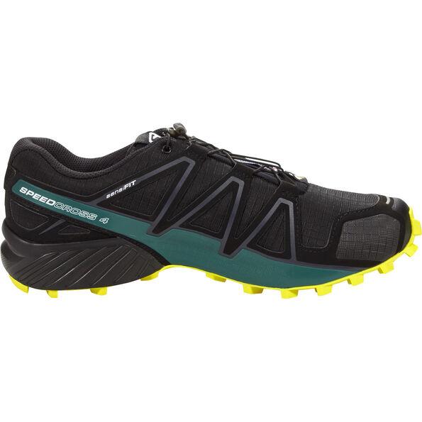 Salomon Speedcross 4 Shoes Herren black/sulphur spring