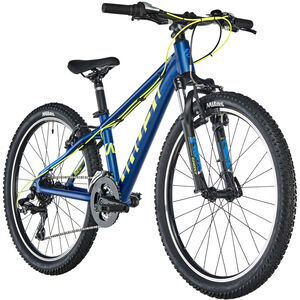 "Ghost Kato 2.4 AL 24"" Kids night blue/neon yellow/riot blue bei fahrrad.de Online"