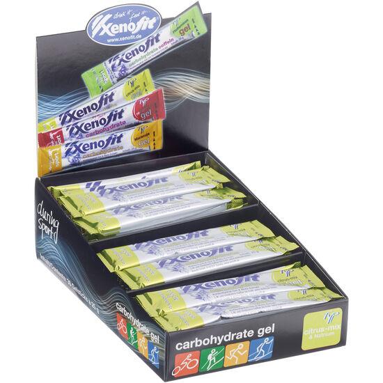 Xenofit Carbohydrate Gel Box Citrus-Mix 30 x 25g bei fahrrad.de Online