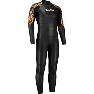 Dare2Tri To Swim Wetsuit Herren black/orange black/orange