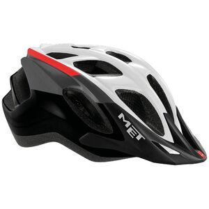 MET Funandgo Helm white/black/red