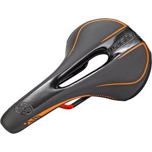 Reverse AM Ergo Sattel schwarz/fox orange bei fahrrad.de Online