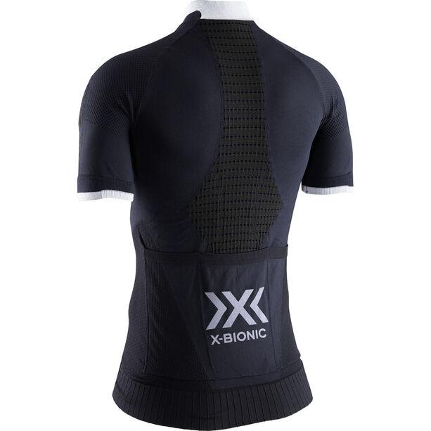 X-Bionic Invent 4.0 Bike Race Zip Trikot SH SL Damen opal black/arctic white