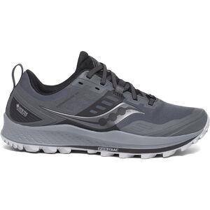 saucony Peregrine 10 GTX Schuhe Damen grey/black grey/black