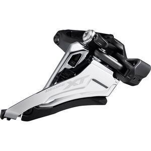 Shimano Deore XT FD-M8100 Umwerfer 2x12 Side Swing Mid Clamp Front-Pull black black