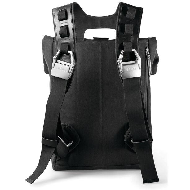 Brooks Islington Backpack Canvas 22-30 L total black