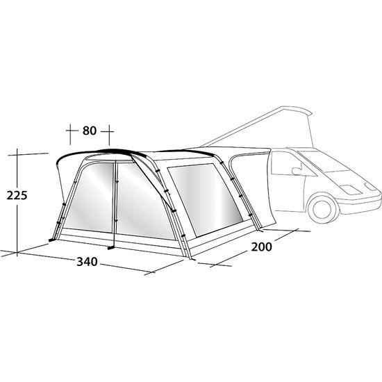 Outwell Scenic Road 200 Tent grau bei fahrrad.de Online