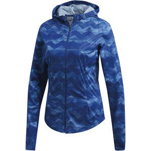 adidas Adizero Track Jacket Women Raw Grey/Mystery Ink bei fahrrad.de Online