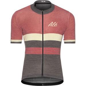 Alé Cycling Classic Vintage SS Jersey Herren bordeaux bordeaux