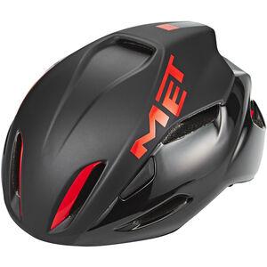 MET Manta Helm black/red black/red