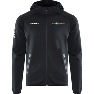 Craft Team Sunweb Hood Herren black black
