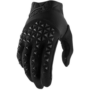 100% Airmatic Gloves black/charcoal black/charcoal