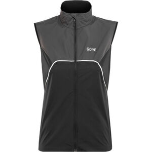 GORE WEAR R7 Partial Gore-Tex Infinium Vest Damen black/terra grey black/terra grey