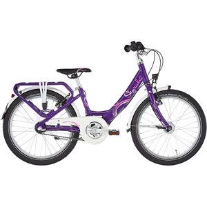 "Puky Skyride 20-3 Alu Light Kinderfahrrad 20"" Lila bei fahrrad.de Online"