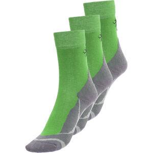 axant Trekking Socken 3er Pack Kinder green