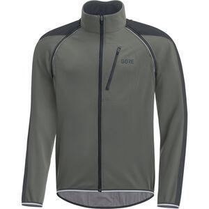 GORE WEAR C3 Windstopper Phantom Zip-Off Jacket Herren castor grey/black castor grey/black