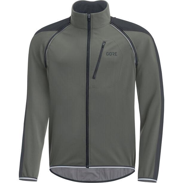GORE WEAR C3 Windstopper Phantom Zip-Off Jacket Herren castor grey/black