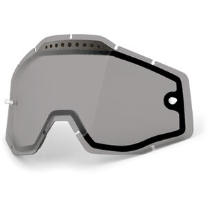 100% Vented Dual Replacement Lenses dual smoke / clear bei fahrrad.de Online