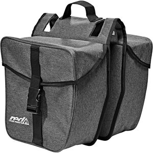 Red Cycling Products Double Urban Bag Gepäckträgertasche grau bei fahrrad.de Online
