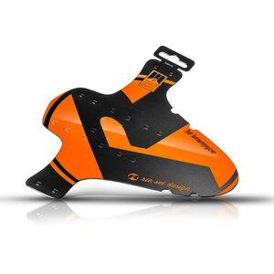 """rie:sel design schlamm:PE Front Mudguard 26-29"""" orange orange"""
