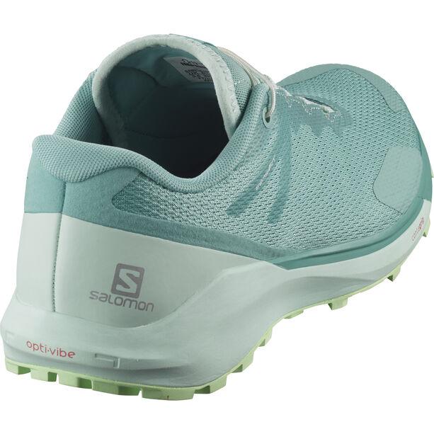 Salomon Sense Ride 3 Schuhe Damen meadowbrook/icy morn/patina green