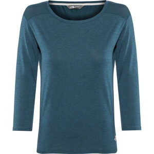 The North Face Inlux 3/4 Sleeve Top Damen blue wing teal dark heather blue wing teal dark heather