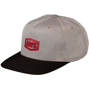 100% Enterprise 2019 Snapback Cap warm grey warm grey