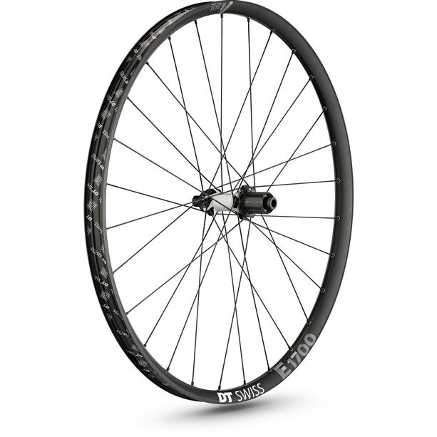"DT Swiss E 1700 Spline Hinterrad 29"" Disc CL 142/12mm Steckachse black"