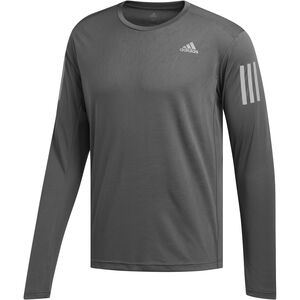 adidas Own The Run Langarm T-Shirt Herren grey six grey six