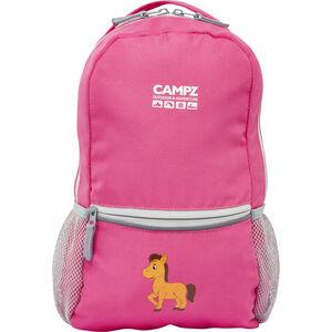 CAMPZ Pony 10L Rucksack Kinder pink pink