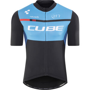 Cube Teamline Trikot Kurzarm Herren black