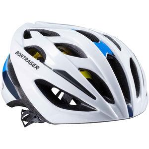 Bontrager Starvos MIPS CE Helmet Herren white/blue white/blue