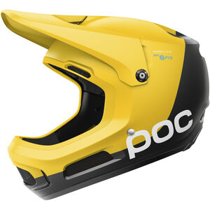 POC Coron Air Spin Helmet sulphite yellow sulphite yellow