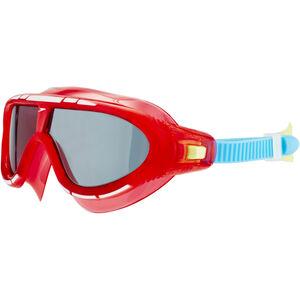 speedo Biofuse Rift Goggles Kinder lava red/japan blue/smoke lava red/japan blue/smoke