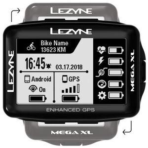 Lezyne Mega XL GPS Computer schwarz bei fahrrad.de Online