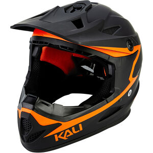 Kali Zoka Helm Herren matt schwarz/orange matt schwarz/orange