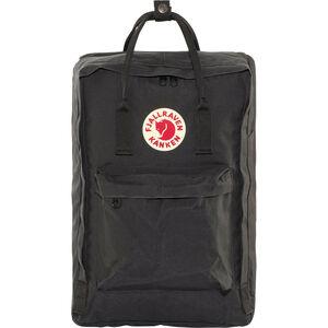 """Fjällräven Kånken Laptop 17"""" Backpack black black"""