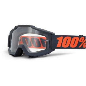 100% Accuri OTG Anti Fog Clear Goggles gunmetal gunmetal