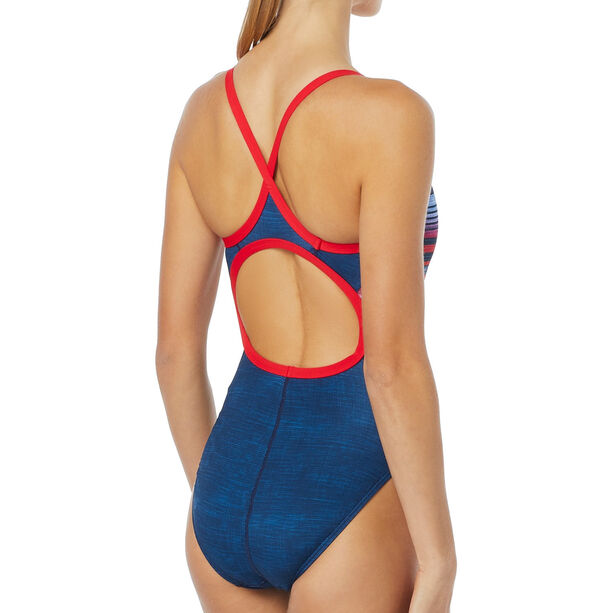 TYR Liberty Diamondfit Swimsuit Damen red/white/blue