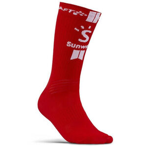 Craft Team Sunweb Bike Socks white/sunweb red white/sunweb red