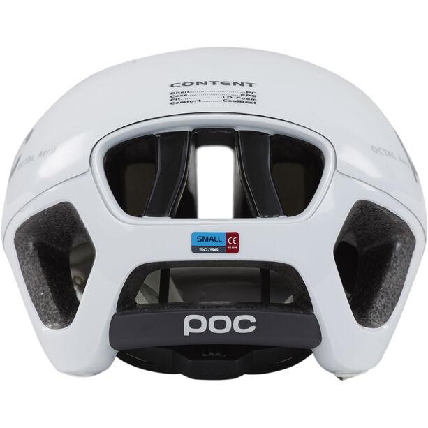 POC Octal Aero Raceday Helm hydrogen white