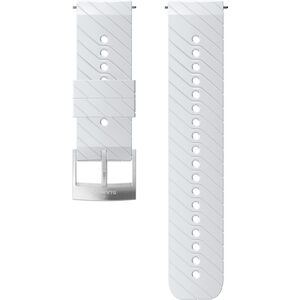 Suunto Athletic 3 Silicone Strap white/steel white/steel